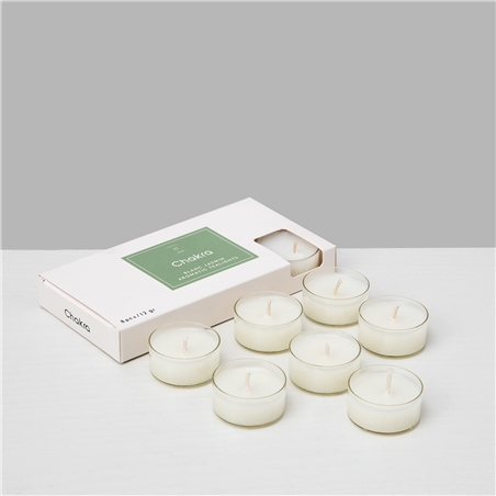 Blanc Yasmin 8li Tealight Mum Natural